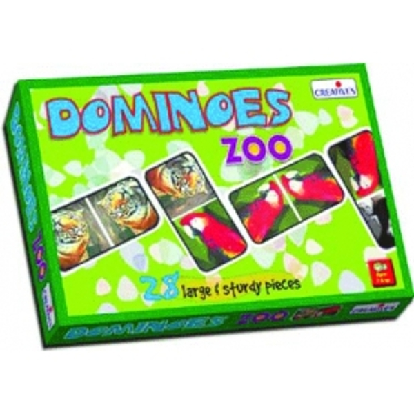 Creative Pre-School - Dominoes-Zoo