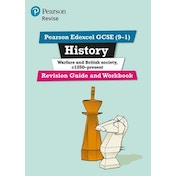 Pearson Edexcel GCSE (9-1) History Warfare and British society, c1250-present Revision Guide and Workbook: Catch-up and revise by Victoria Payne (2017)