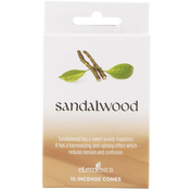 12 Packs of Elements Sandalwood Incense Cones