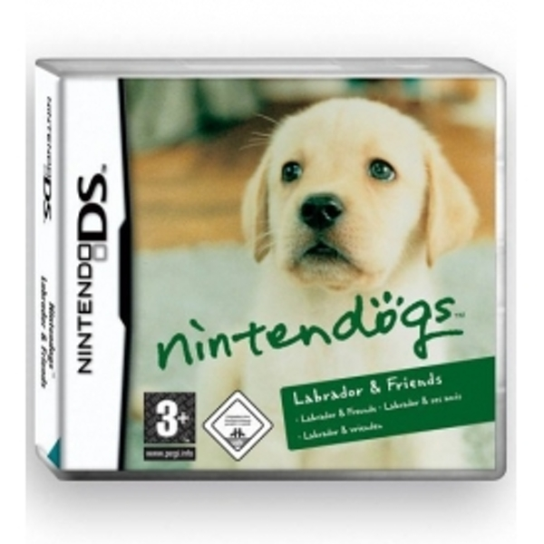 Nintendogs Labrador and Friends DS