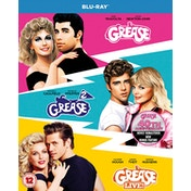Grease 40th Anniversary Triple Grease/Grease 2/Grease Live Blu-ray (Region Free)