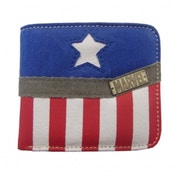 Captain America Collection Wallet (Red, Blue & White)