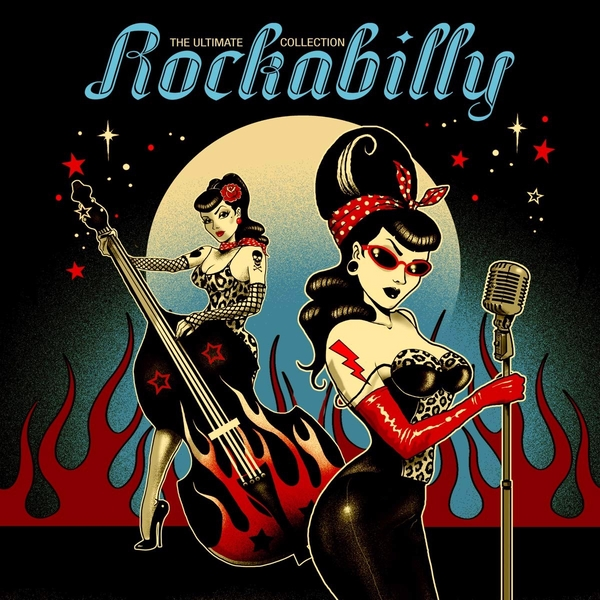Various - The Ultimate Rockabilly Collection Red Transparent Vinyl
