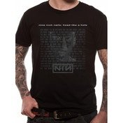 Nine Inch Nails - Head Unisex T-shirt Black Medium