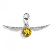 Golden Snitch with Embellished Crystals (Harry Potter) Clip on Charm
