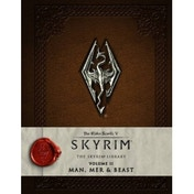 The Elder Scrolls V Skyrim The Skyrim Library, Vol. II Man, Mer, and Beast