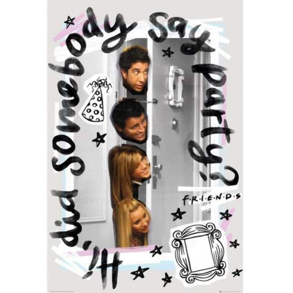 Friends Party maxi Poster