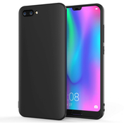 Huawei Honor 10 Matte TPU Gel - Solid Black