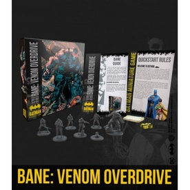 Batman Miniature Game Bane: Venom Overdrive Bat-Box Board Game