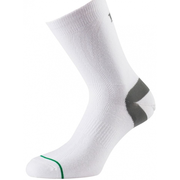 1000 Mile Ultimate Tactel Sock White Ladies S
