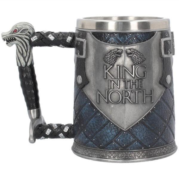 Game Of Thrones - King in the North Tankard
