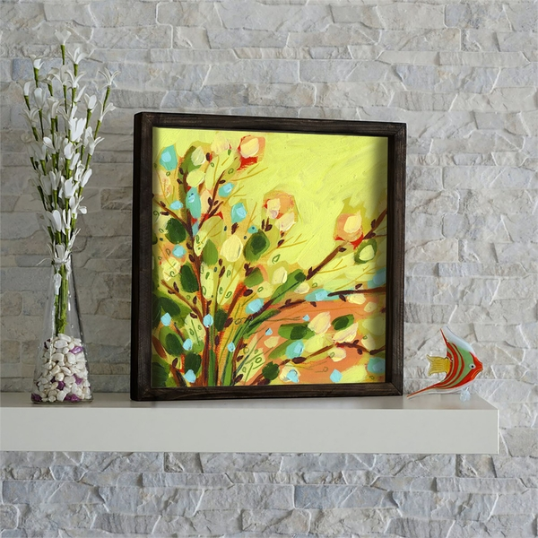 KZM541 Multicolor Decorative Framed MDF Painting