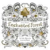 Enchanted Forest: An Inky Quest and Colouring Book by Johanna Basford (Paperback, 2015)