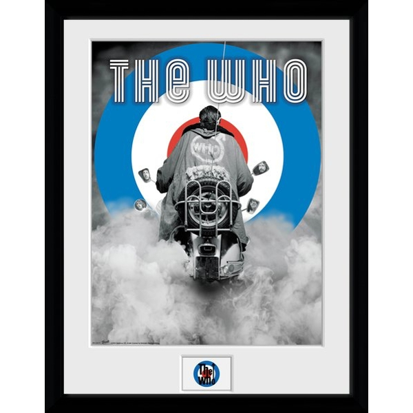 The Who Quadrophenia Framed Collector Print