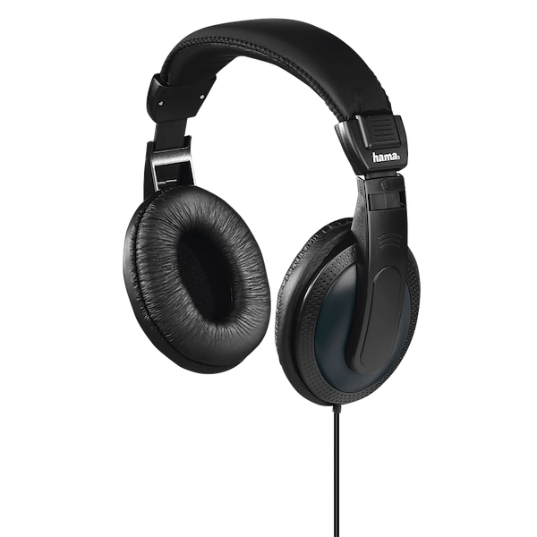 Hama Basic4TV headphones over-ear one-sided long cable black