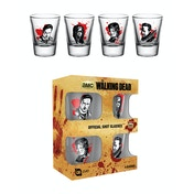 The Walking Dead Characters New Shot Glasses