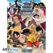 One Piece - Marine Ford Small Poster