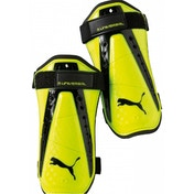Puma King Universal Shinguards Yellow/Black Large