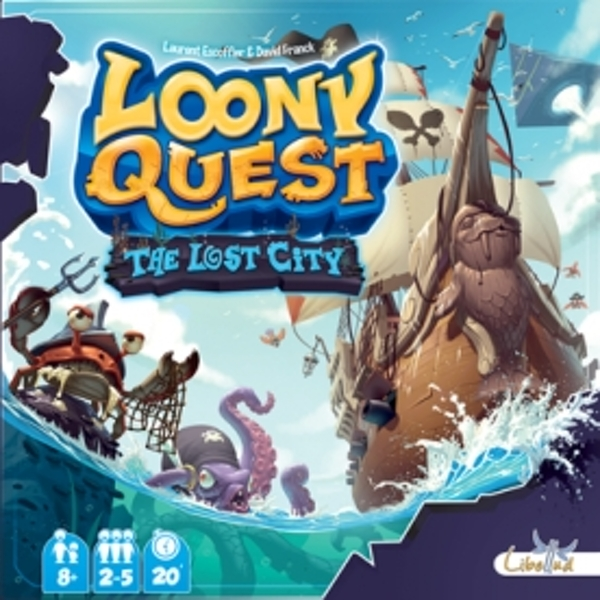 Loony Quest The Lost City Expansion Board Game