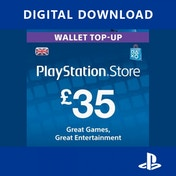 35 Playstation Network Code UK PS3 & PS Vita & PS4 PSN Digital Download