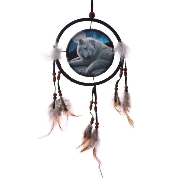 Decorative Guardian Wolf Dreamcatcher