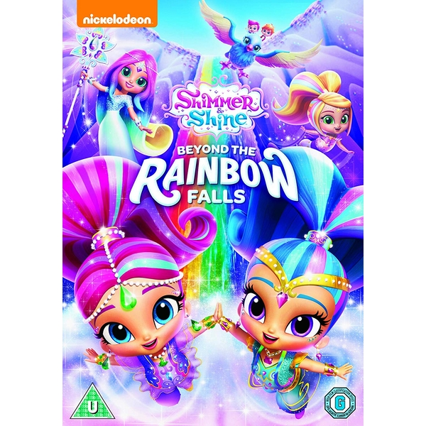Shimmer and Shine: Beyond The Rainbow Falls DVD