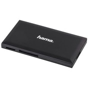 Hama USB 3.0 Multi-Card Reader, SD/microSD/CF/MS, black