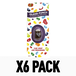 Island Punch (Pack Of 6) Jelly Belly Vent Clips - Image 2
