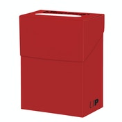 Ultra Pro Solid Red Deck Box