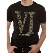You Me At Six Camo Logo T-Shirt XX-Large (Black)