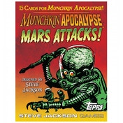 Munchkin Apocalypse Mars Attacks Card Booster Pack