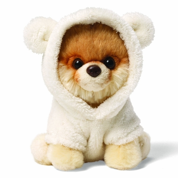 Gund Itty Bitty Boo World's Cutest Dog in Bear Suit
