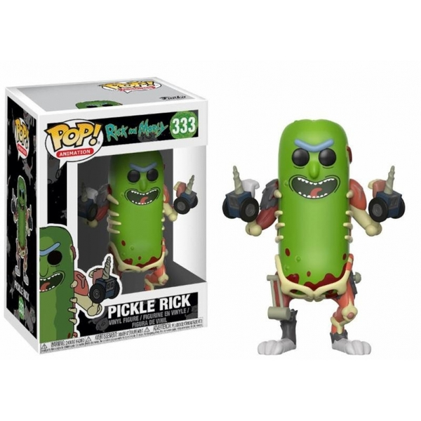 Pickle Rick (Rick and Morty) Funko Pop! Vinyl Figure