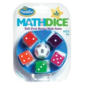 Thinkfun Maths Dice Junior Board Game