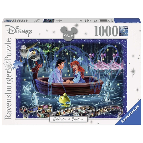 Ravensburger Disney Collector's Edition Little Mermaid 1000 Piece Jigsaw Puzzle