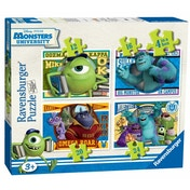 Monsters University Jigsaw Puzzles 4-in-1 Box