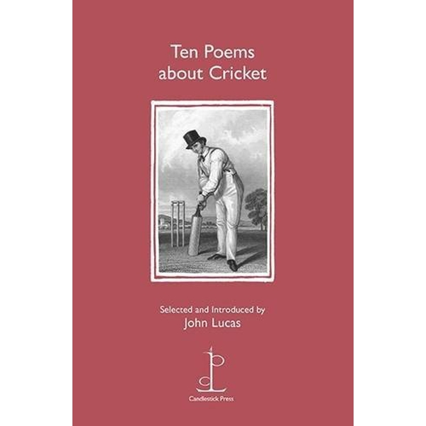 Ten Poems About Cricket by Candlestick Press (Paperback, 2016)