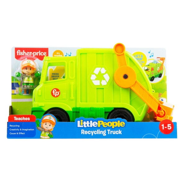 Fisher Price Little People Recycling Vehicle