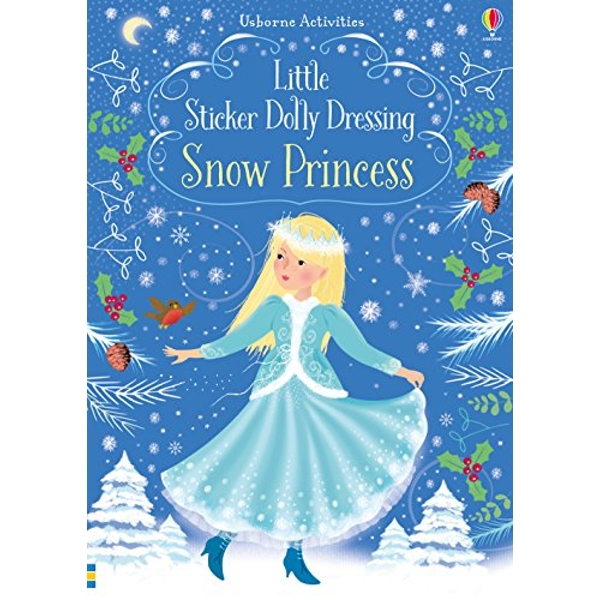 Little Sticker Dolly Dressing Snow Princess  Paperback / softback 2018