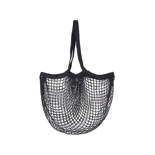 Sass & Belle Black String Shopper Bag