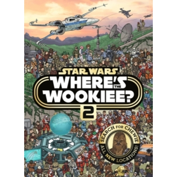 Star Wars Where\'s the Wookiee? 2 Search and Find Activity Book