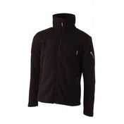 Hi-Tec Men's Small Crow/Black Tunuyan Fleece Jacket