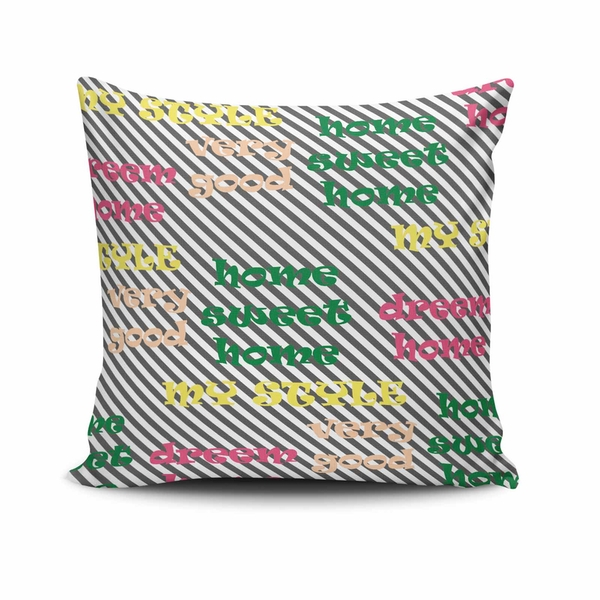 NKLF-221 Multicolor Cushion Cover
