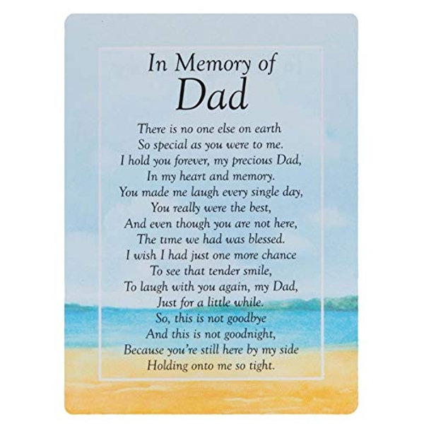 Graveside Memorial Cards - In Memory Of Dad