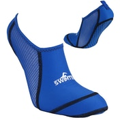 SwimTech Pool Socks Blue - UK Size 8-10