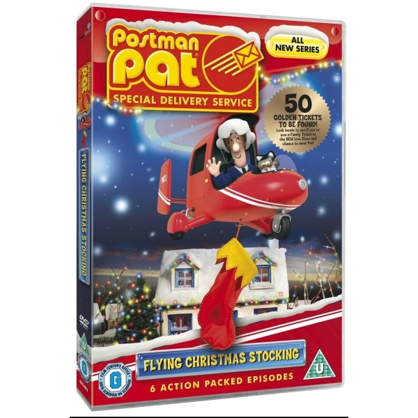 Postman Pat: Special Delivery Service - Flying Christmas Stocking DVD
