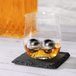 Snifter Glasses with Steel Ice Balls - Set of 2   M&W - Image 2