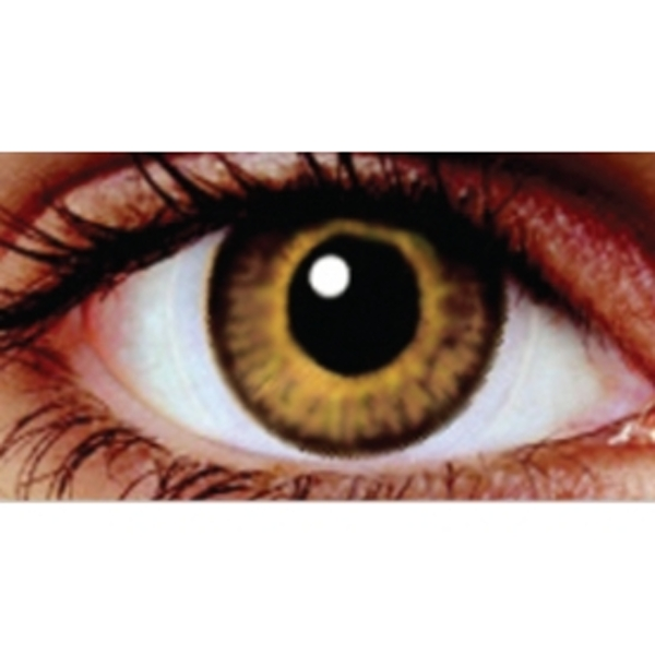 Yellow Oak 1 Month Coloured Contact Lenses (MesmerEyez Infusionz)