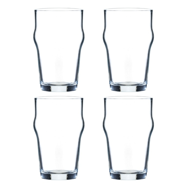 Ravenhead Essentials Sleeve of 4 Nonik Glasses 29.5cl