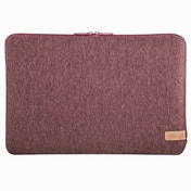 """Hama""""Jersey"""" Laptop Sleeve up to 15.6"""" 34 cm (13.3 inches), dark red"""